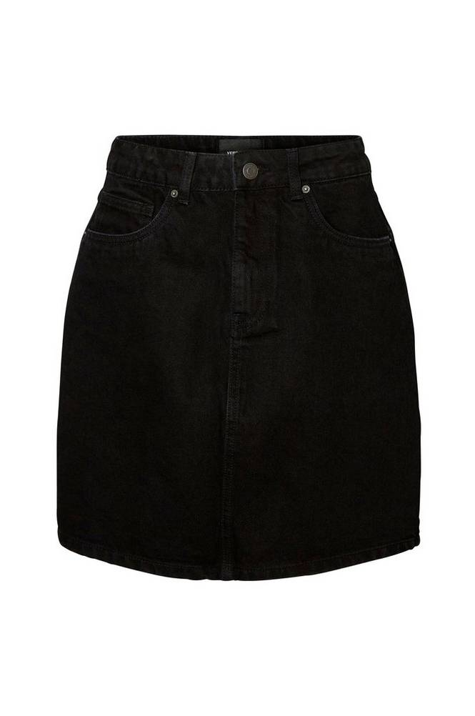 Vero Moda Denimnederdel vmKate HR S Denim Skirt