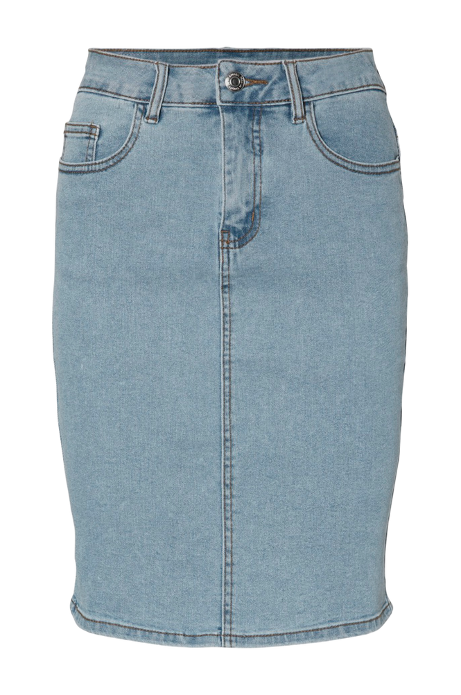 Vero Moda Denimnederdel vmHot Nine HW Pencil Skirt