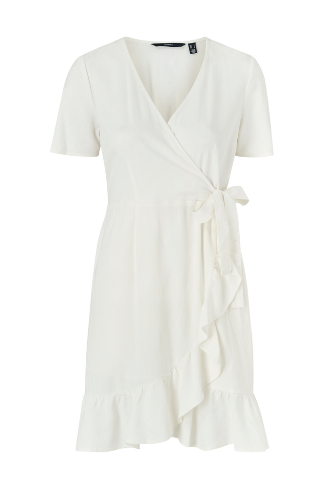 Vero Moda Slå om-kjole vmHelenmilo S/S Wrap Dress