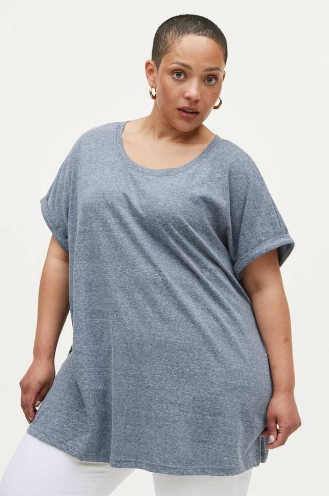Zizzi Top vAva S/S T-shirt