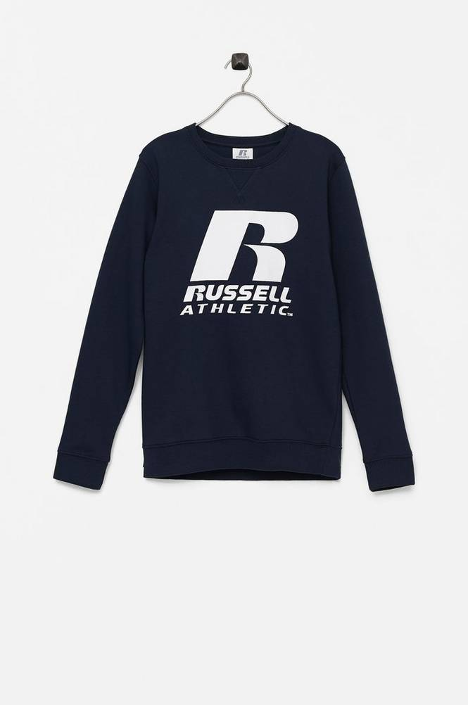 Russell Athletic Sweatshirt R Logo BB Crew