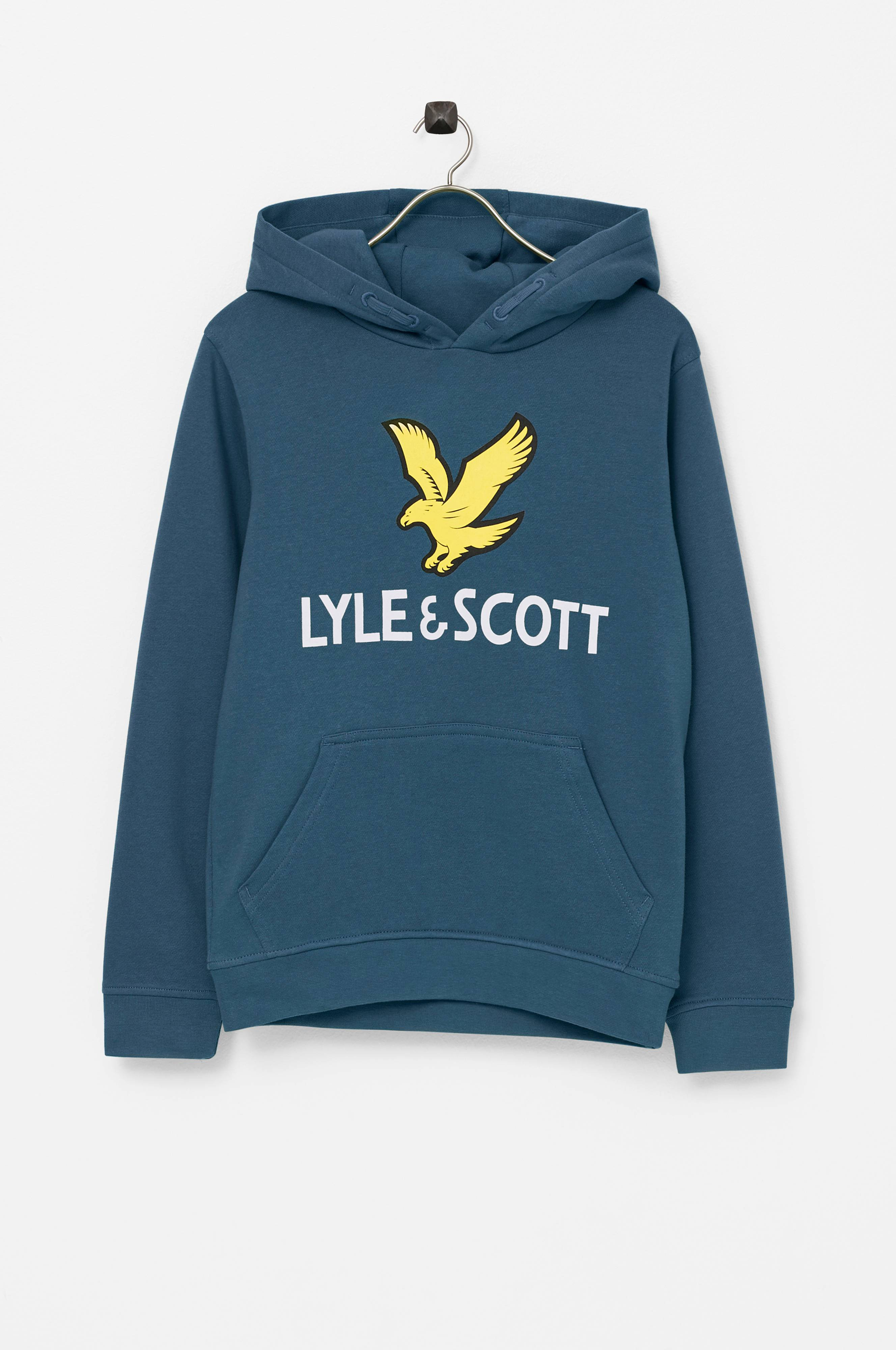 Lyle & Scott Sweatshirt Logo LB Oth Hoodie Blå
