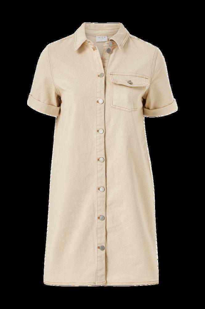 Vila Kjole viGlove S/S Denim Dress