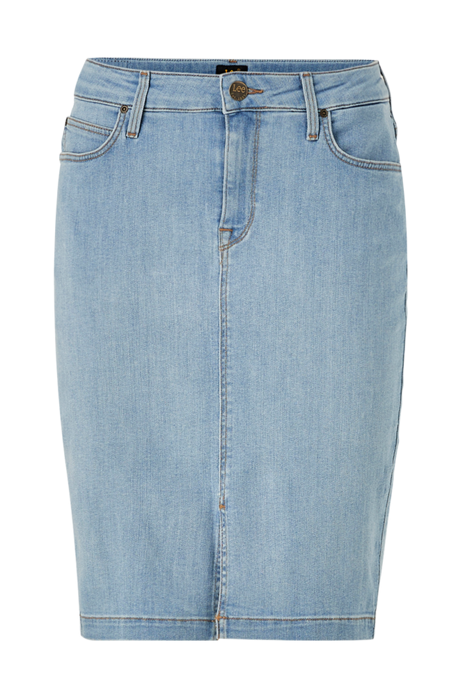 Lee Denimnederdel Pencil Skirt Slim