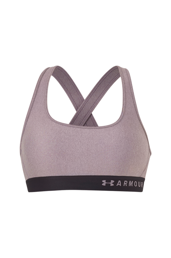 Under Armour Sports-bh Armour Mid Crossback Heather Bra