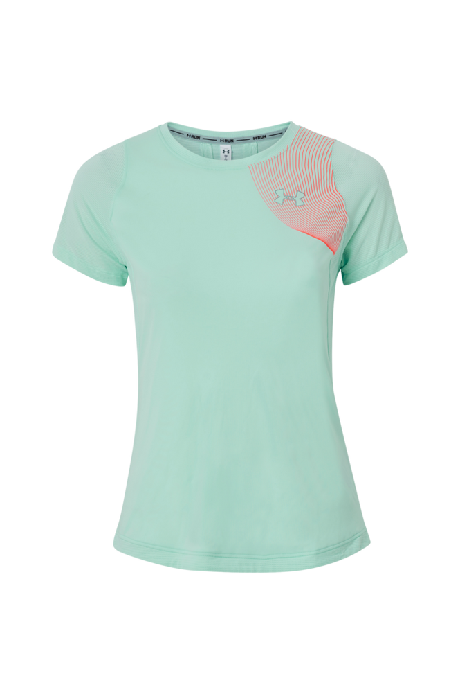 Under Armour Træningstop W UA Qualifier Iso-Chill Short Sleeve
