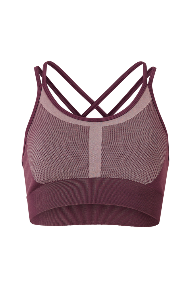 Stay in place Sports-bh Seamless Strap Sports Bra