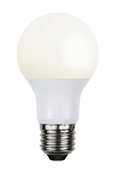 Ljuskälla E27 LED. Normal Opal, 10W