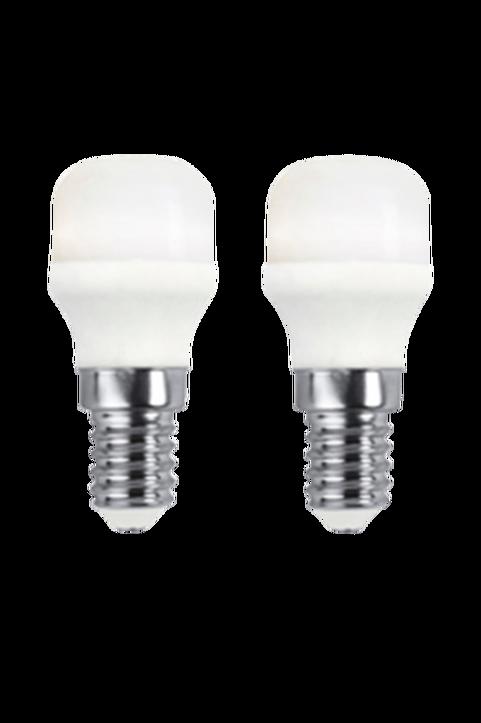 Ljuskälla E14 LED Päron Matt 1,5W 2-Pack