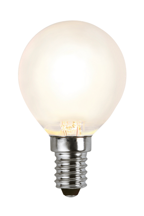 Ljuskälla E14 LED Klot Frostad 4W