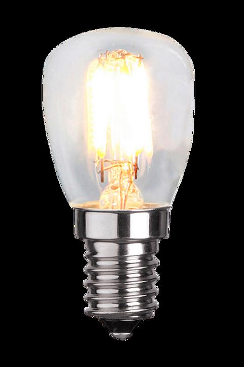Ljuskälla E14 LED Filament Päron Klar 2,5W