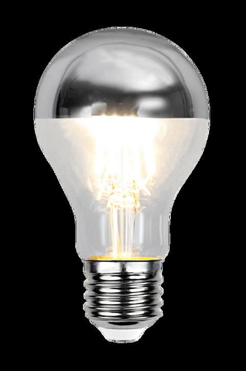 Ljuskälla E27 LED Toppförspeglad Silver 4W