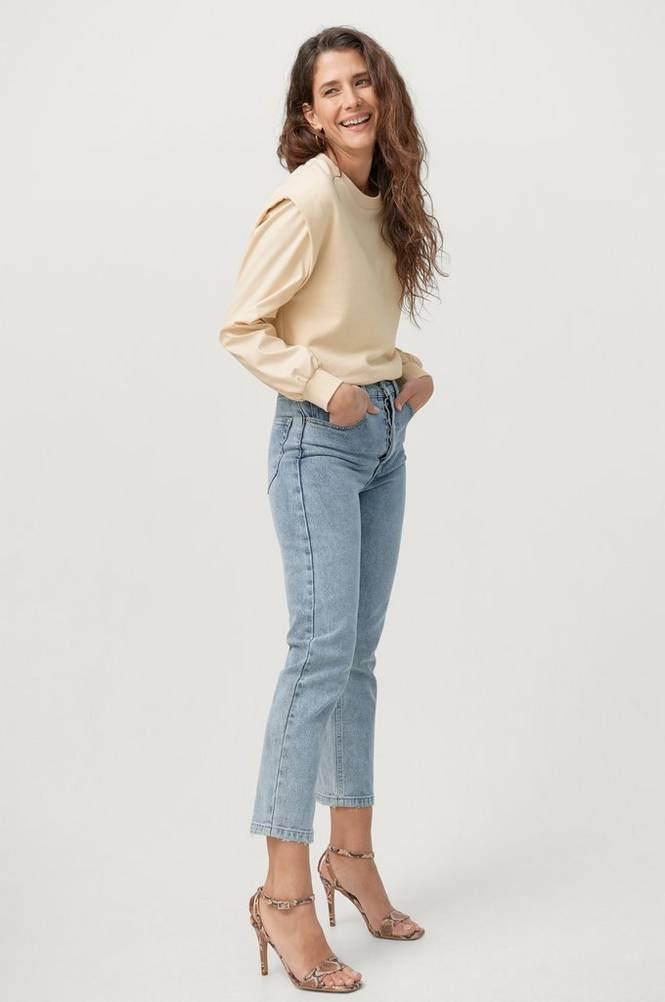 Gina Tricot Sweatshirt Peg Pu Sweater