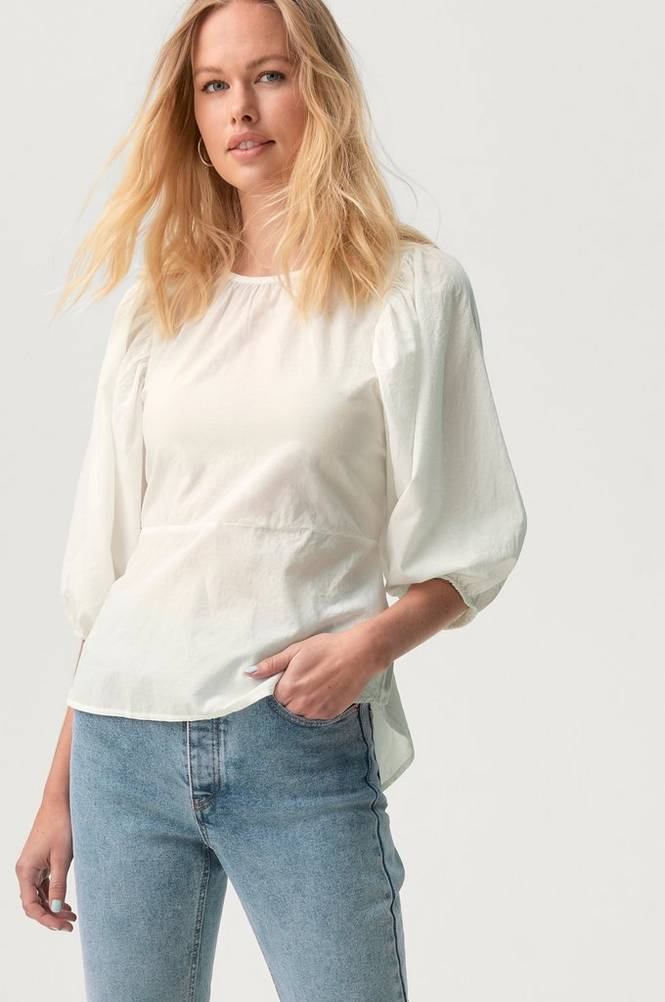 Gina Tricot Bluse Claire Tie Back Blouse