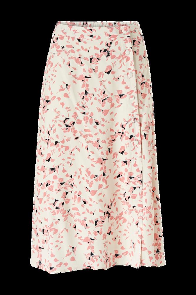 Selected Femme Nederdel slfRebekka MW Midi Slit Skirt B
