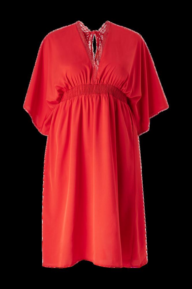Vero Moda Curve Kjole vmGali 3/4 Sleeve Midi Dress Curve