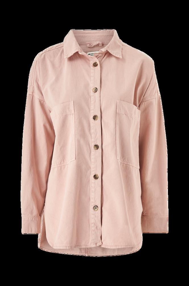 Gina Tricot Skjorte Oversized Denim Shirt