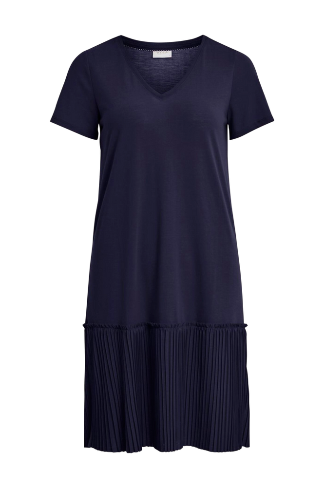 Vila Kjole viPliss S/S Dress