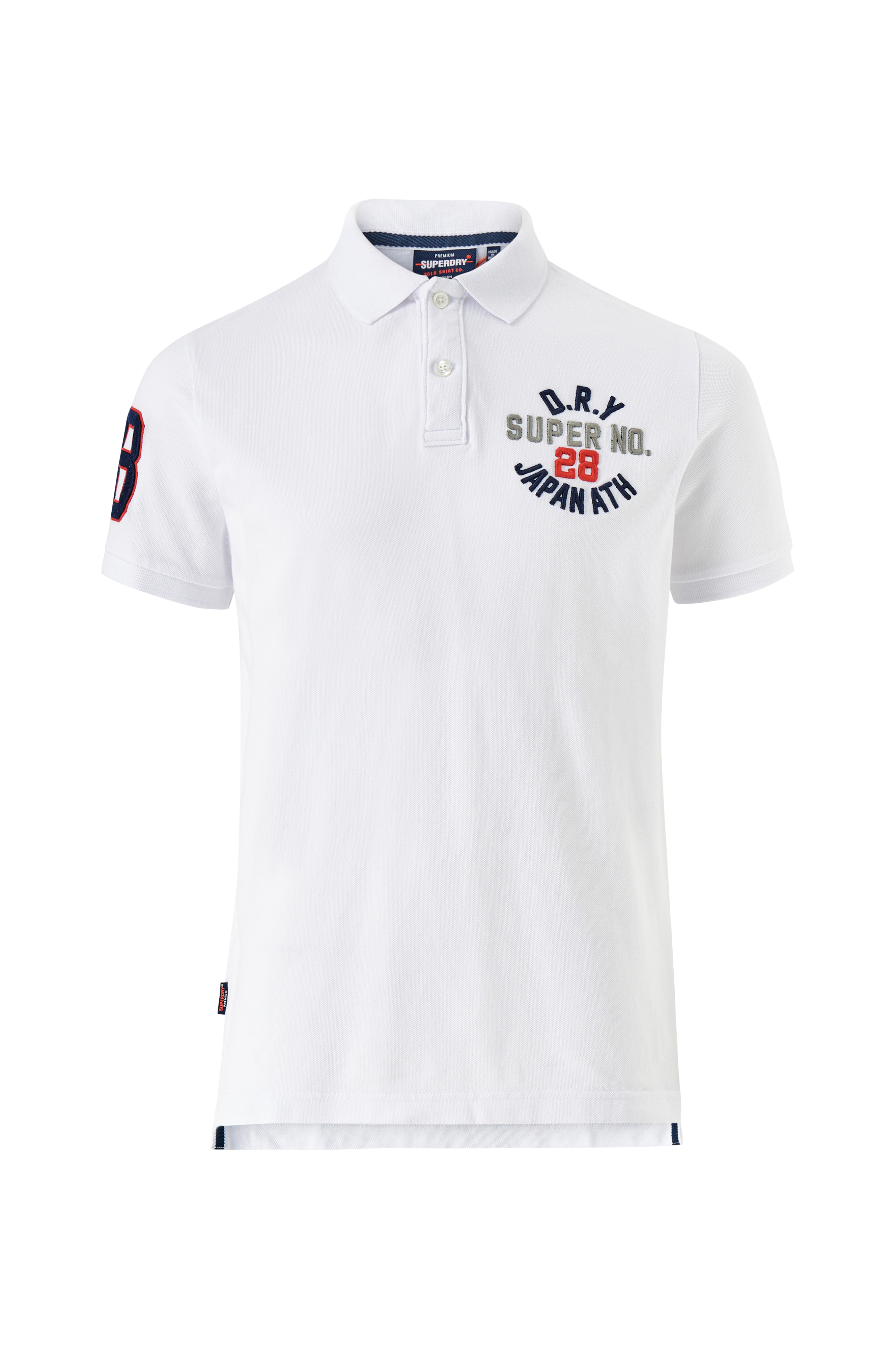 Superdry Poloshirt Classic Superstate SS Polo Hvid