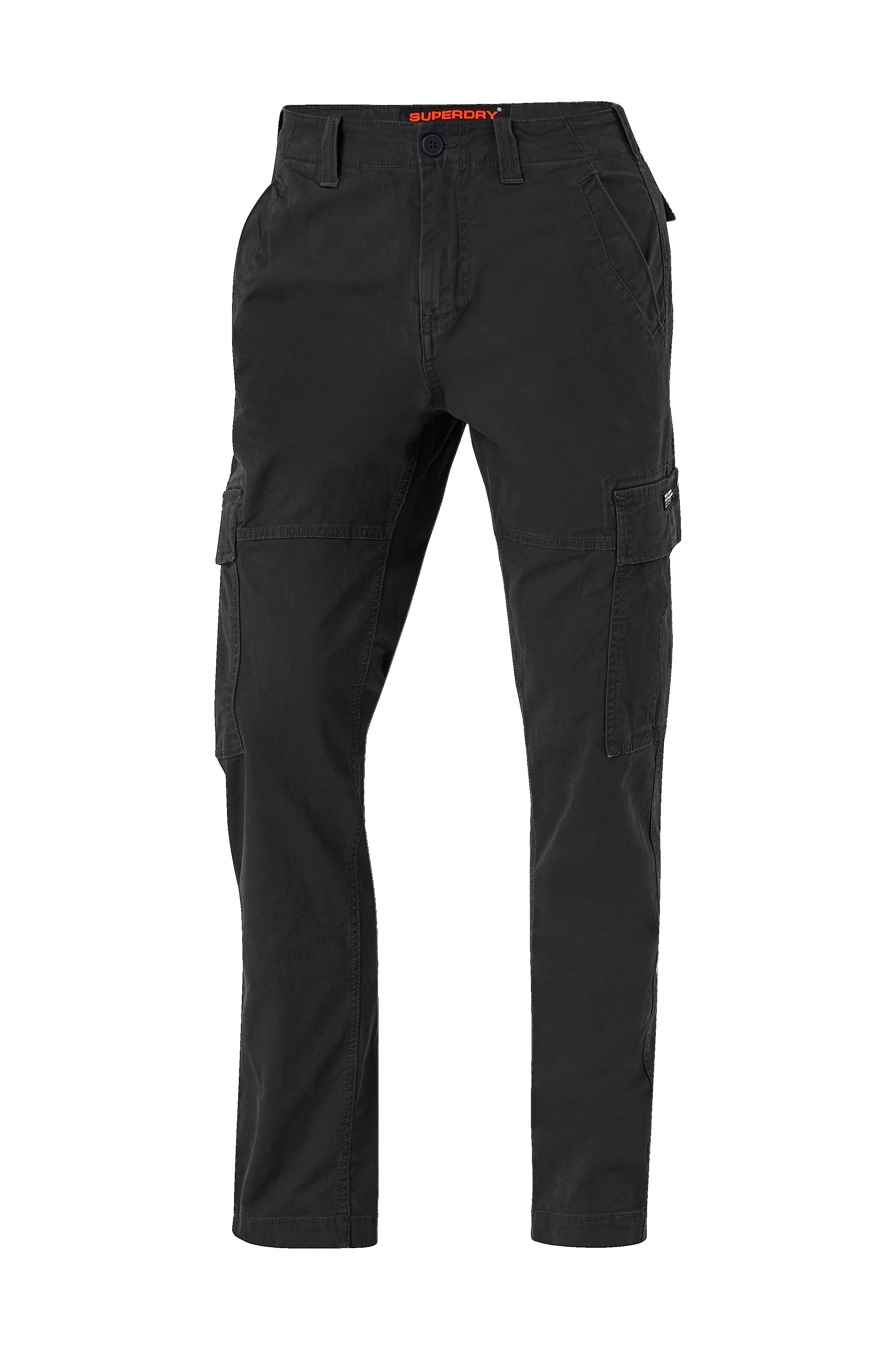 Superdry Cargobyxor - washed black
