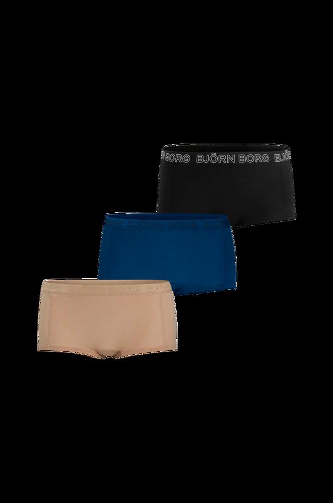 Björn Borg Boxertrusse Solids Cotton Minishorts 3-pak