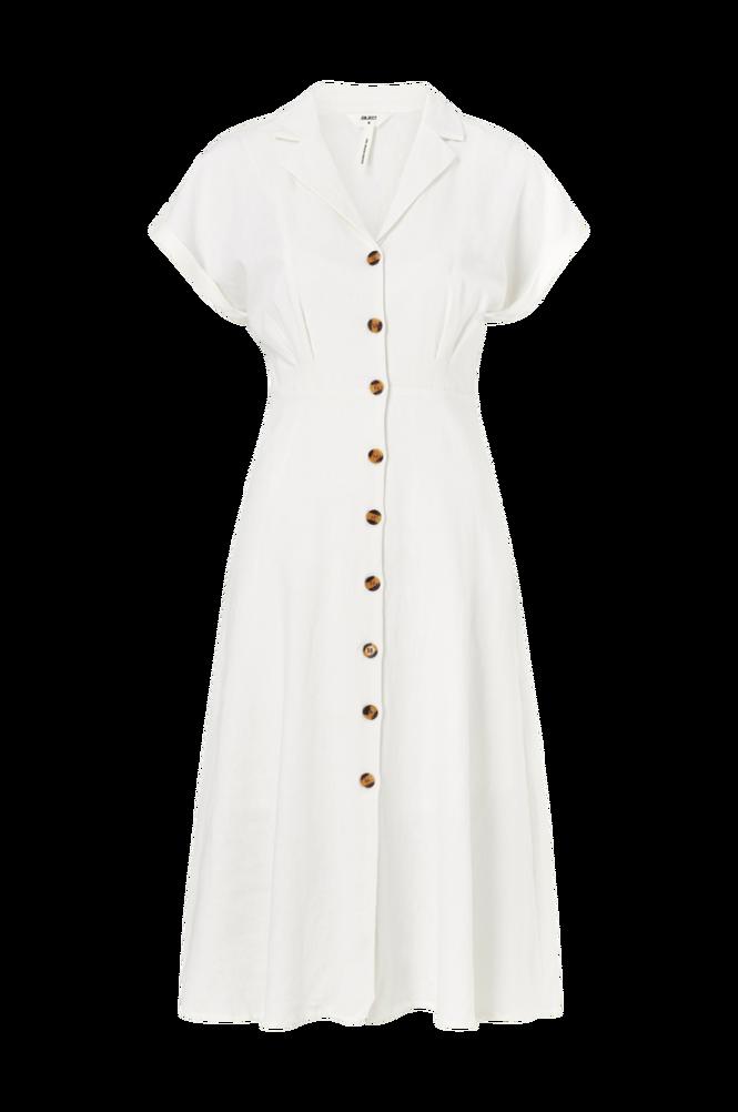 Object Kjole objNans S/S Long Dress 107