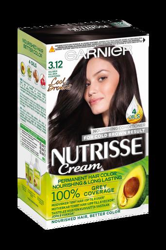 Hiusväri Nutrisse Frozen Brown 3.12
