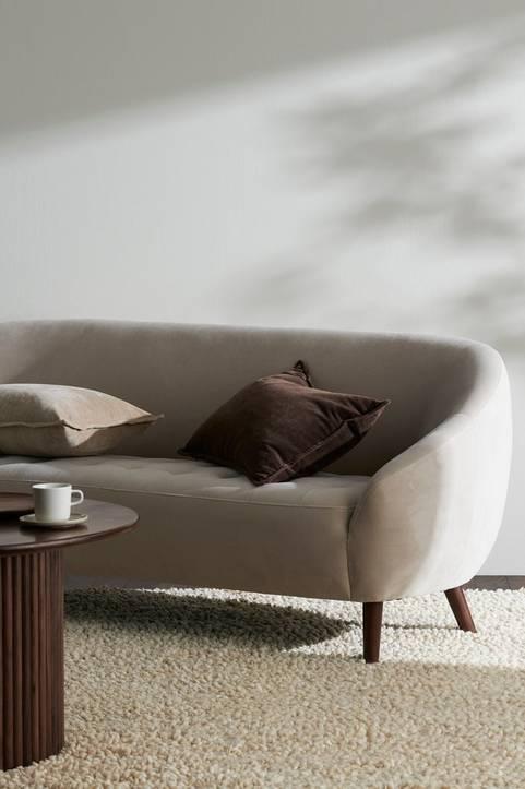 Soffa Codrian 3-sits i sammet