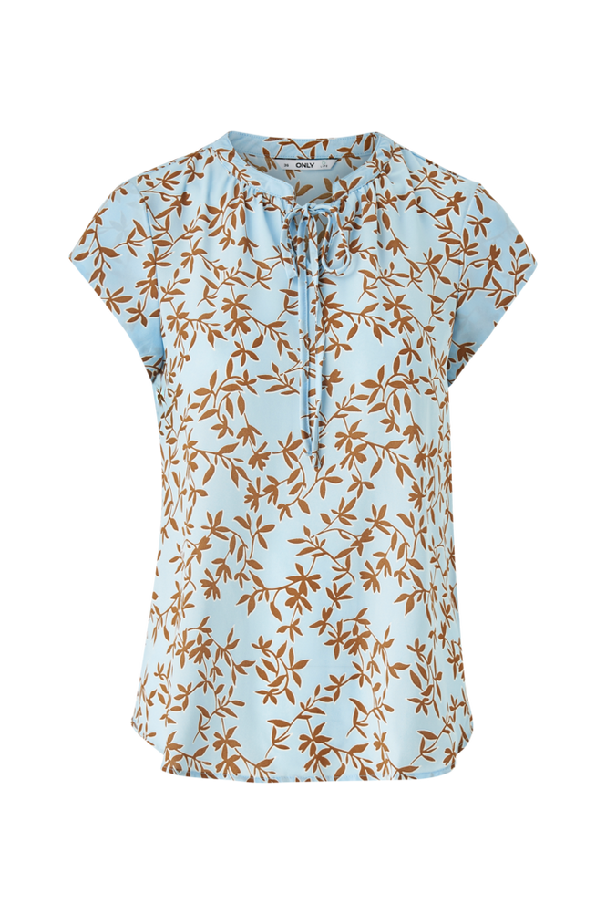 Only Bluse onlAlma Poly S/S Top