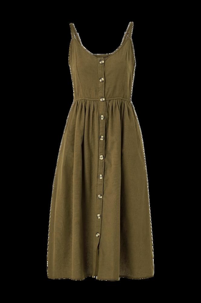 Vila Kjole viCottanpalmea S/L Midi Dress