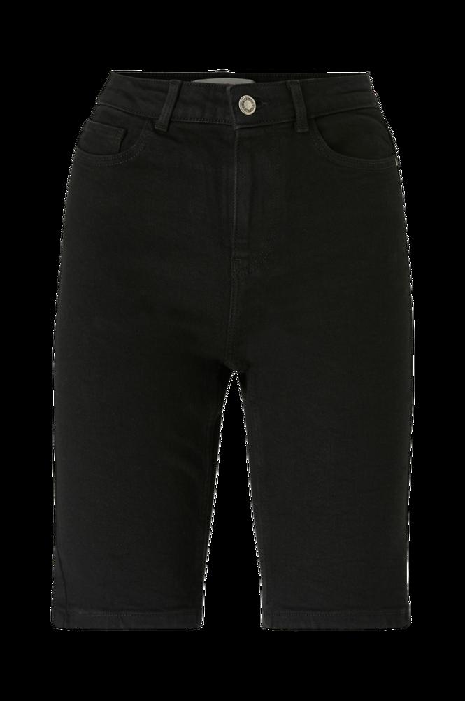Pieces Denimshorts pcKamelia Skn MW Long Shorts