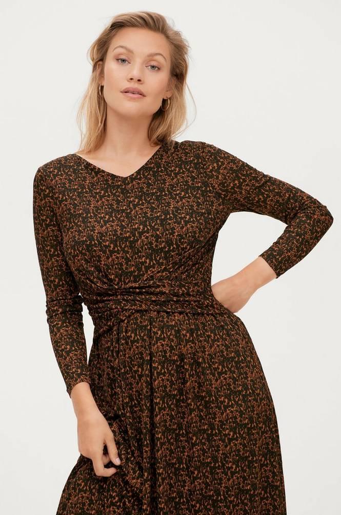 Soaked in Luxury Kjole slAngela FLower Dress