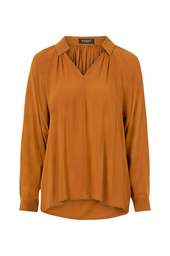 Soaked in Luxury Bluse slKeto Blouse LS