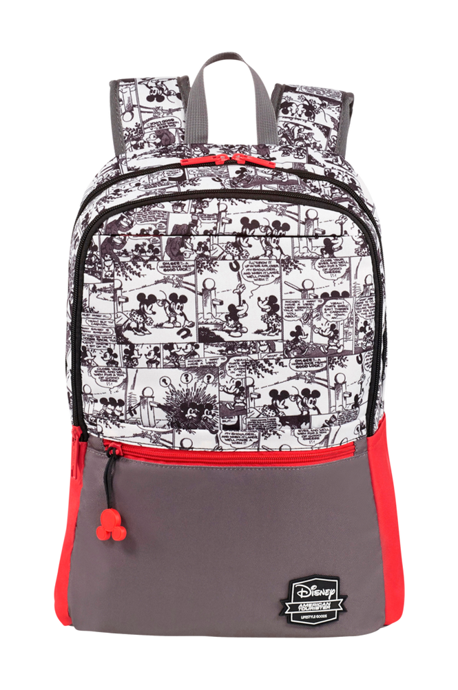 American Tourister Mickey Comics Red