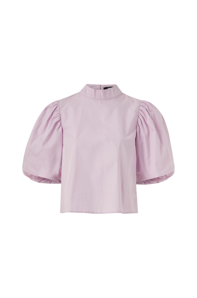 Gina Tricot Bluse Catalina Puff Sleeve Blouse