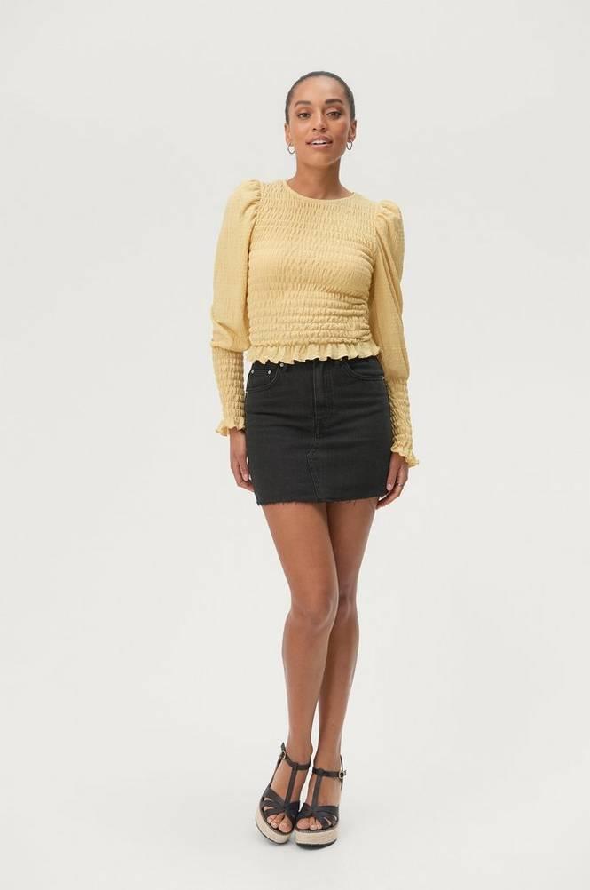 Gina Tricot Denimnederdel Vintage Denim Skirt