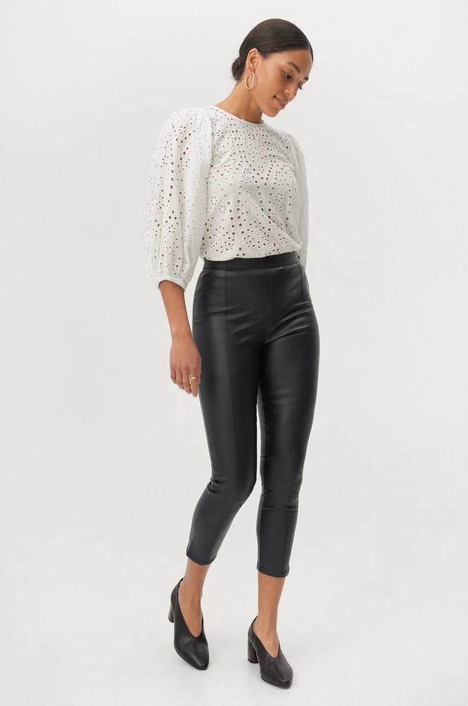 Gina Tricot Bukser Maj PU Trousers