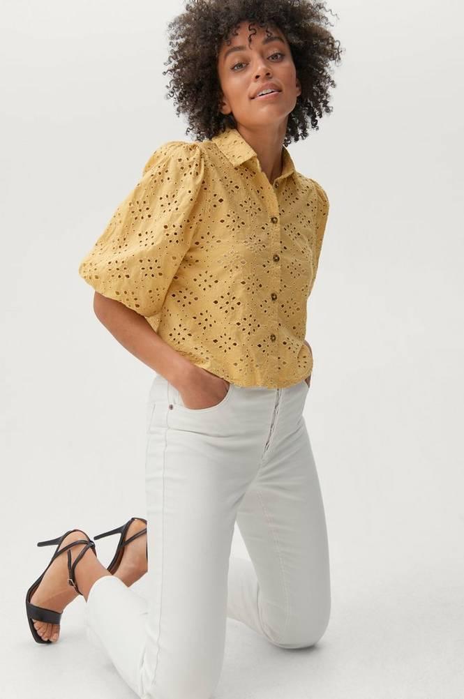 Gina Tricot Bluse Vicky Shirt