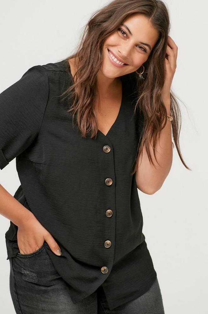 Zizzi Bluse xHannu S/S Shirt