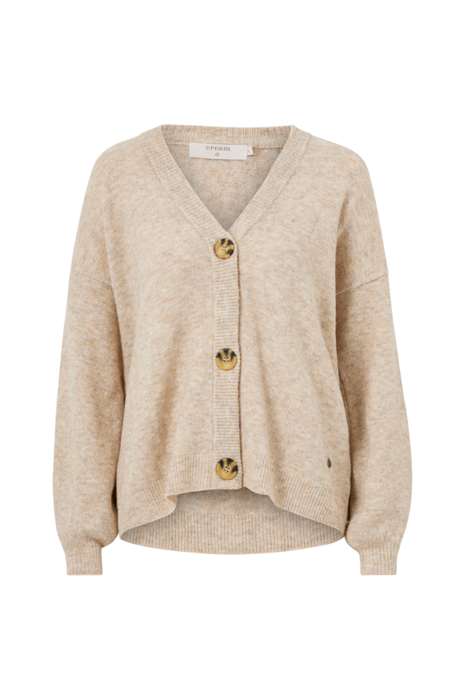 Cream Cardigan AnghaCR OZ Knit Cardigan