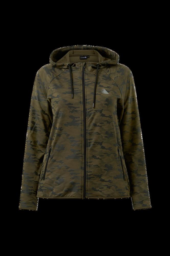 Zizzi Træningsjakke aElena L/S Jacket