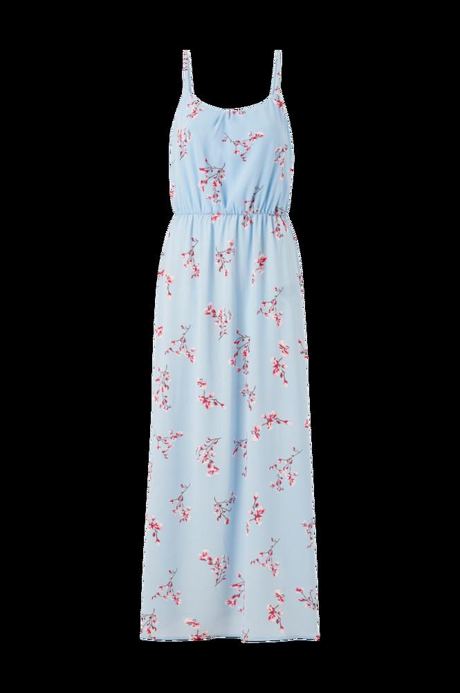 Only Maxikjole onlNova Lux S/L Maxi Dress Aop
