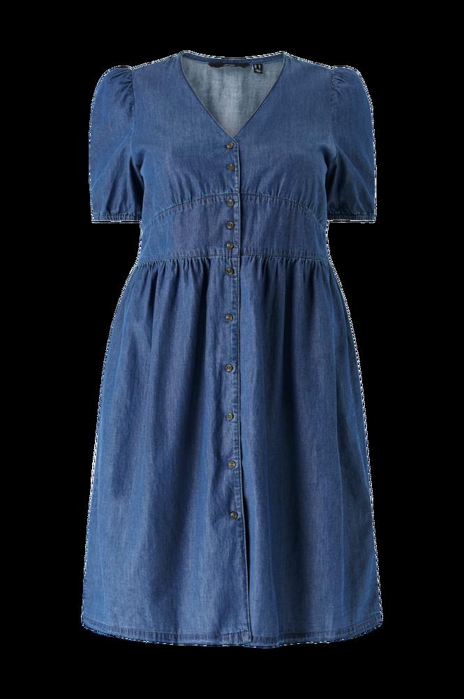 Vero Moda Curve Kjole vmWigga 2/4 Sl Bk Dress Curve