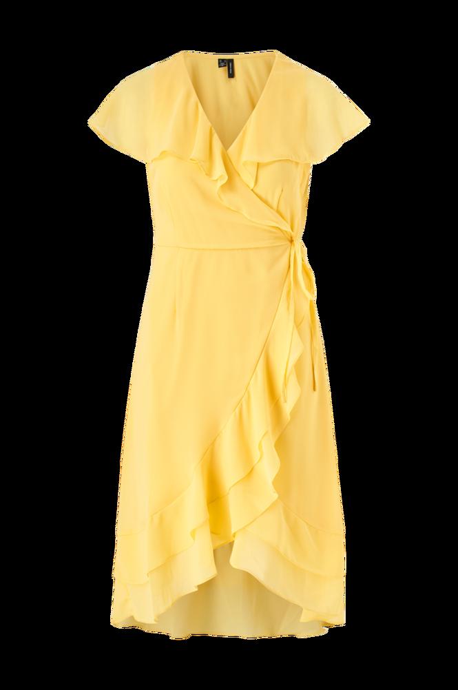 Vero Moda Slå om-kjole vmMaya S/S Wrap Frill Dress