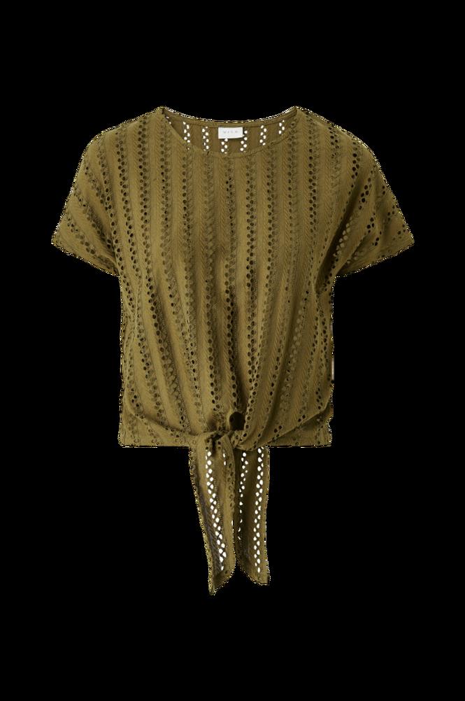 Vila Top viPiline S/S Tie T-shirt