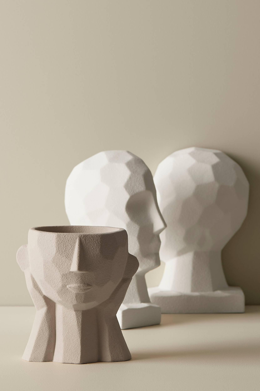 Ellos - Dekoration / ljushållare Face - Natur