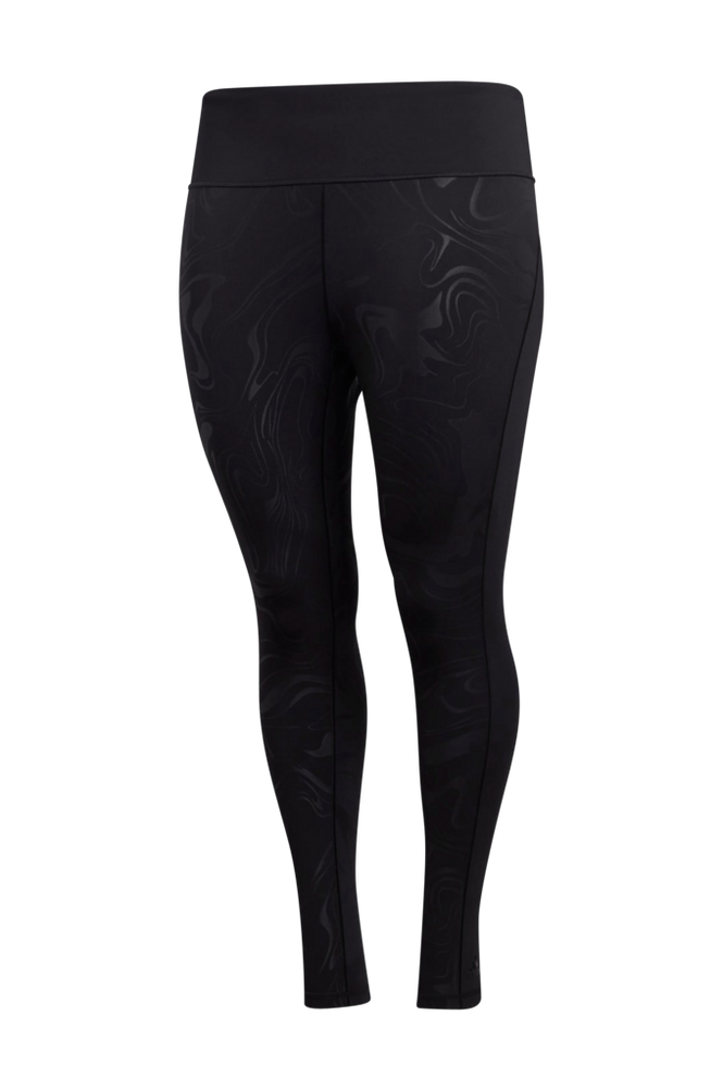 adidas Sport Performance Træningstights Believe This Glam On Long Tights Plus
