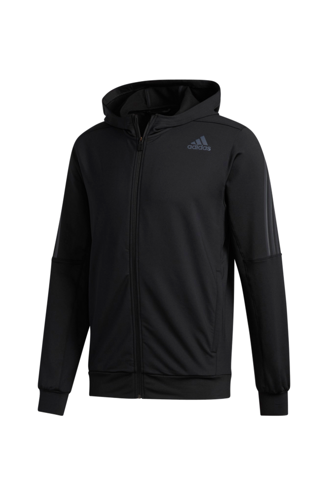 adidas Sport Performance Træningstrøje Aeroready 3-stripes Cold Weather Knit Hoodie