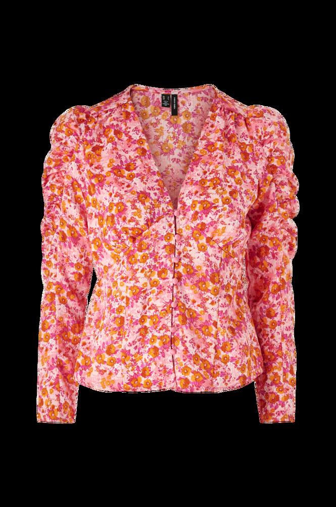 Vero Moda Bluse vmAnneline L/S Detail Top