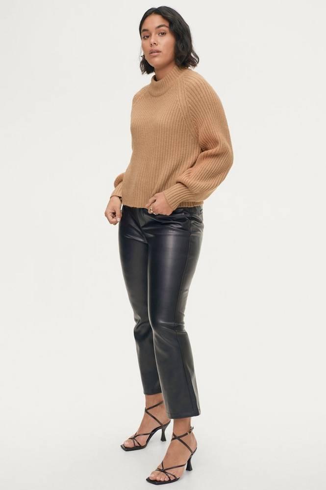 Gina Tricot Bukser Lisa PU Trousers